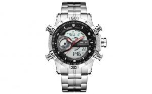 Ceas WEIDE WH6902-1C argintiu