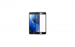 Folie sticla securizata Full Screen cu adeziv pe tot ecranul Samsung Galaxy J5 2016 Negru