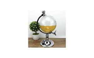 Dozator pentru bauturi Glob Pamantesc cu robinet