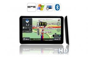 """GPS Auto, Sistem de Navigatie MTK 4GB, Display LCD 5"""", touchscreen, compatibil cu hartile din EU (inclusiv Romania), UK, AU, NZ, la numai 259 RON de la 610 RON"""