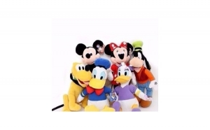 Set 6 jucarii din plus Disney - 25 cm