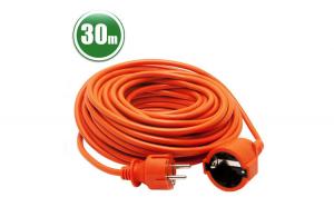 Cablu prelungitor, 3 x 1,0 mm², 30 m