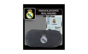 Parasolar spate cu ventuze Real Madrid -