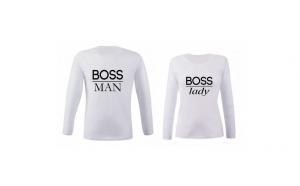 Set de bluze albe Boss