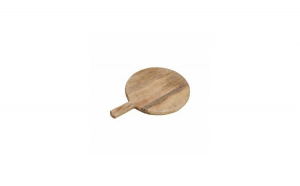 Platou rotund 25 cm  din lemn de mango c