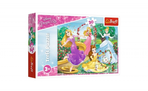 PUZZLE TREFL 30 PRINTESE DISNEY IN