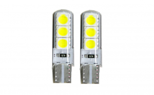 Set 2 x Becuri auto LED, 6 SMD, 12V
