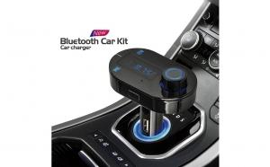 Modulator FM - cu telecomanda si Bluetooth