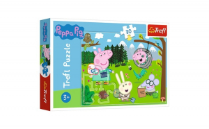 PUZZLE TREFL 30 PEPPA PIG IN DRUMETIE
