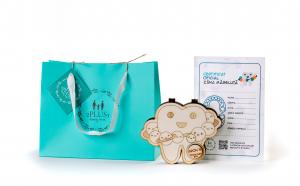 """Cutia ZANA MASELUTA """"Planet"""" personalizata pentru pastrarea dintilor de lapte"""