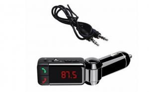 Carkit Wireless Bluetooth Hands-free Modulator FM, USB la doar 79 RON in loc de 179 RON