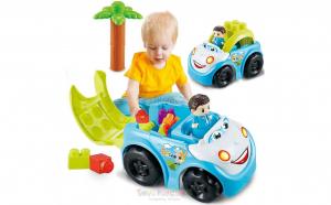 Vehicule de jucărie pentru copii Blocuri de construcție Mașină