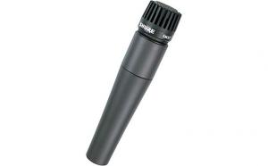 Microfon SM57, instrument si voce