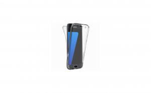 Husa 360 Grade Silicon Samsung Galaxy J6 Plus 2018,Transparenta