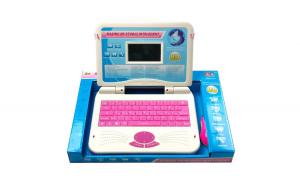 Laptop interactiv pentru copii Primul meu calculator 80 functii Engleza-Romana Roz Black Friday Romania 2017