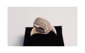 Inel din Argint, model deosebit - marime 56