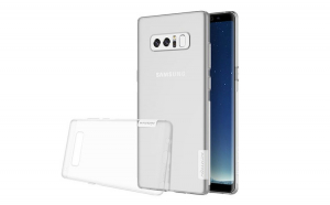 Husa silicon, Samsung Galaxy NOTE 8, Nillkin, Transparent
