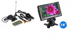 """Monitor LCD auto de 7,8"""" cu TV turner incorporat si card reader, la doar 429 RON in loc de 899 RON"""