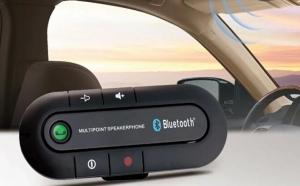 Car Kit Bluetooth Upgrade pentru masina cu difuzor si microfon HD acum la doar 79 RON in loc de 169 RON