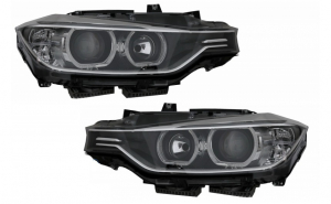 Set 2 faruri Angel Eyes compatibil BMW