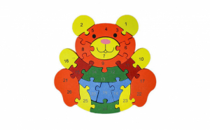 Puzzle din lemn diferite animatii