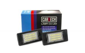 Lampi numar dedicate cu led Audi A7