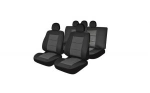 Huse Scaune Auto AUDI A6 Premium Lux Negru