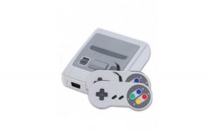 Consola jocuri retro, mini, 620 de jocuri, AV, gri, Gonga
