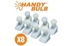 Set complet 8 becuri Handy Bulb LED bec