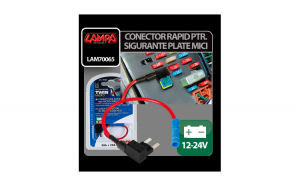 Conector rapid pentru doua sigurante