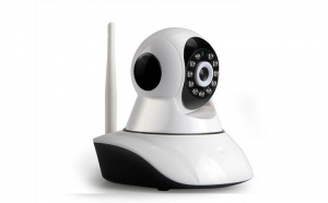 Camera IP Wireless / WIFI IR  de supraveghere , rotativa cu alarma HD