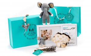 "Set cadou personalizat ""Planeta"" pentru mama si bebelus, cadou nou nascut, baby shower"