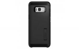 Husa Samsung Galaxy S8, Spigen Tough Armor Air Cushion, Negru