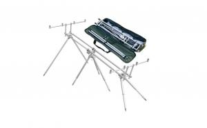 Set pescuit: rodpod+set senzori 4+1 + set 4 swingeri