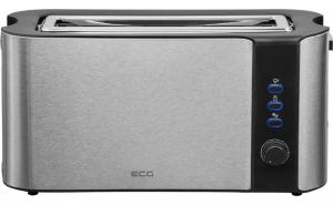 Prajitor de paine ECG ST 10630 inox