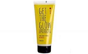 Lotiune intensificatoare SOLARESSE Get The Glow pentru accelerarea bronzului cu Vitamina E  Aloe Vera, 200 ml