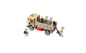 Joc constructie Blocki, Camion militar, 183 piese