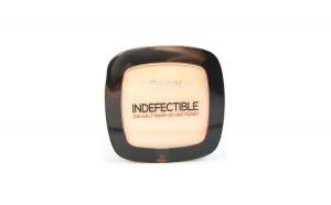 Fond de ten pudra L'Oreal Indefectible Make-Up Powder - Warm Vanilla