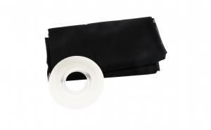 Plasa de tantari adeziva pentru fereastra - negru - 140x140