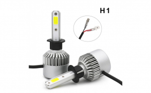 Set becuri LED auto S2, 8000 lumeni - H1