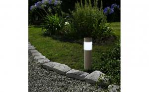 Lampa solara LED – imitatie de piatra