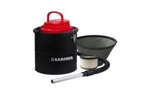 Aspirator pentru cenusa Kaminer, capacitate 15 litri, filtru HEPA
