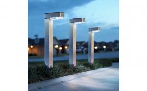 Lampa solara LED, alb rece