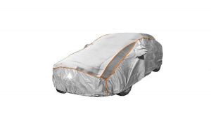 Prelata auto impermeabila cu protectie pentru grindina SsangYong Rexton - RoGroup, 3 straturi, gri