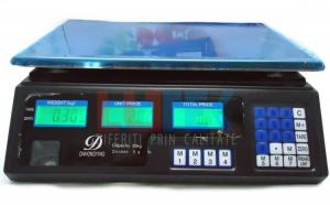 Cantar electronic cu acumulator 40 kg