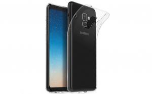 Husa slim silicon Samsung Galaxy A8 2018 A530 Transparenta