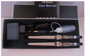 Kit tigara electronica duo Baterie Voltaj Variabil 650 mAh cu clearomizor CE6 FT, la 106 RON in loc de 219 RON