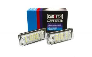 Lampi numar dedicate cu led BMW E39 5