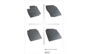 Covoare cauciuc HONDA CIVIC IX 3/5D HATCHBACK 2012-> ( 0833 P10 )