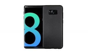 Husa Samsung Galaxy S8 i-Zore Carbon Fiber Negru